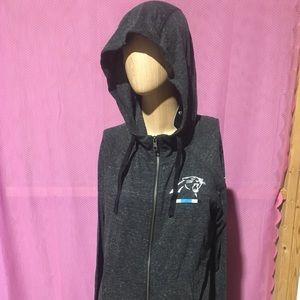 New Women Nike NFL Carolina Panthers jacket